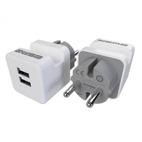 Lader easyCharge Plugin met ingebouwde telefoonhouder (DUO Pack)